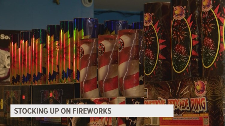 Fireworks shortage could put a damper on Independence Day celebrations this year