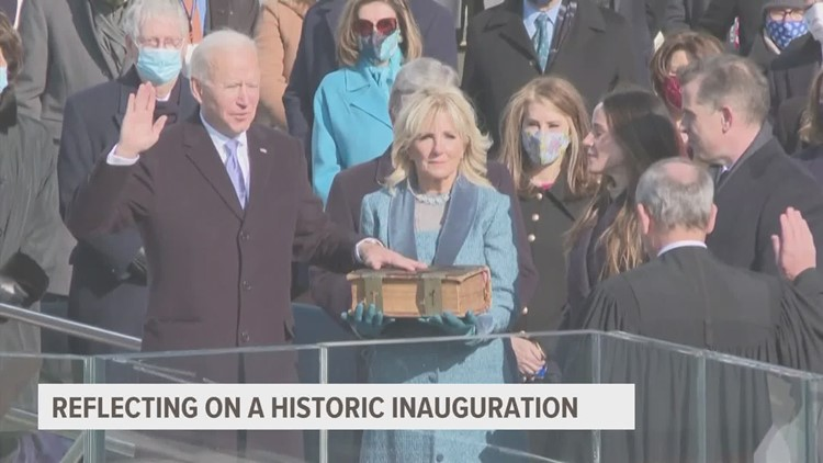 'A new era' Iowa State professor discusses peaceful tranfer of power, Harris' historical inauguration as vice president
