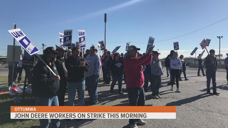 10,000 workers strike after UAW, John Deere fail to reach contract agreement