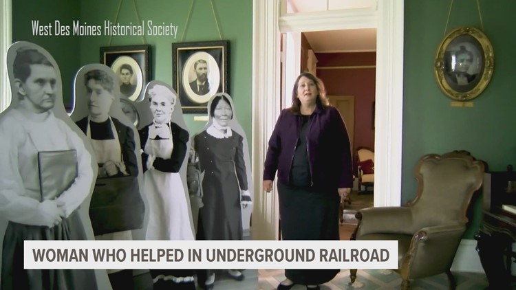 West Des Moines Historical Society highlights women who helped in the Iowa  underground railroad