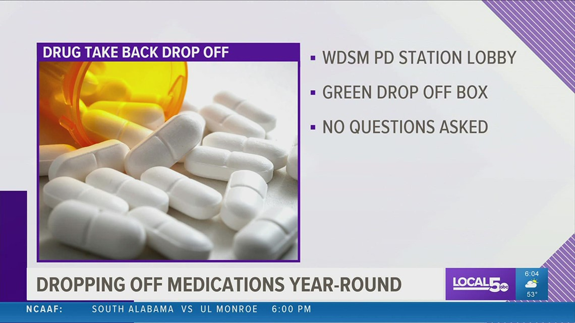 West Des Moines Police host National Prescription Drug Takeback Day drive-thru as overdoses hit record high amid pandemic
