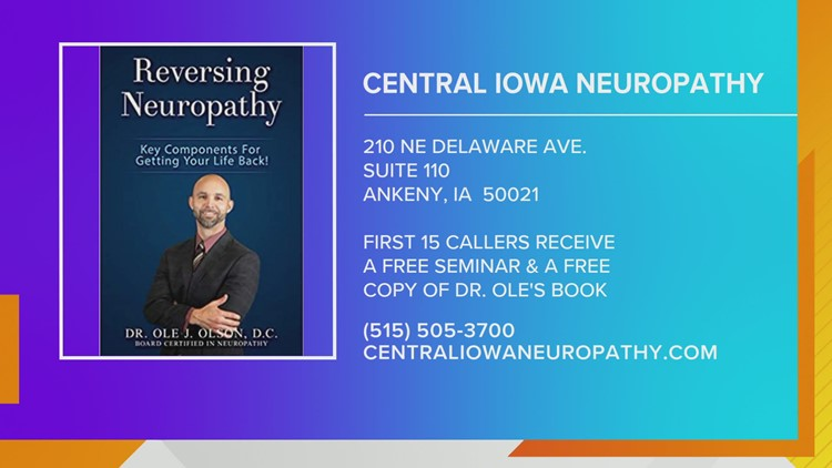 Free Seminars to learn about treatment options for  Peripheral Neuropathy
