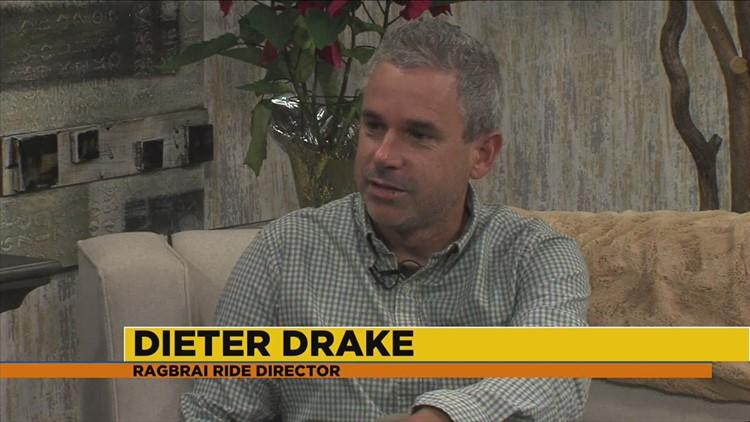 New RAGBRAI director Dieter Drake