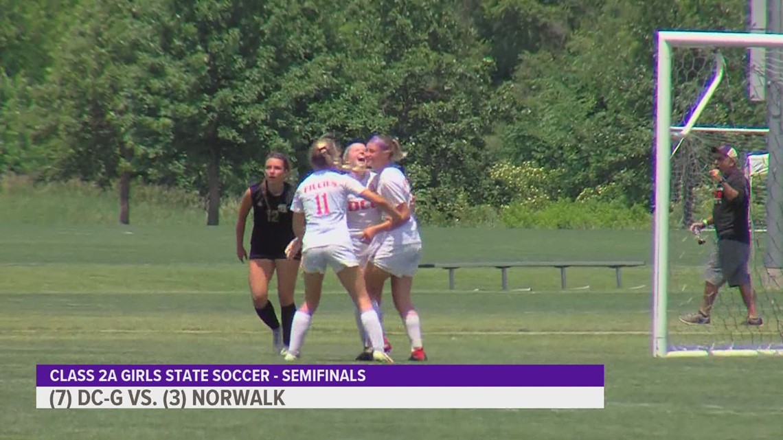 Girls state soccer: Ankeny, WDM Valley, DC-G and DSM Christian all win semifinal matches
