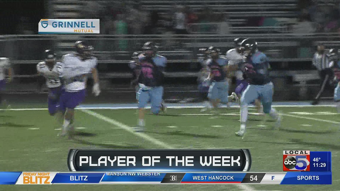 Grinnell Mutual Player of the Week: Domonic Walker, Panorama