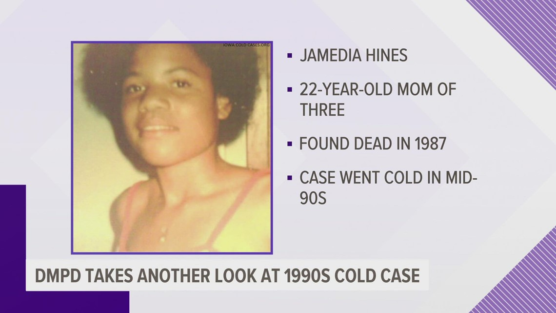 Des Moines police taking another look at cold case from 1990s