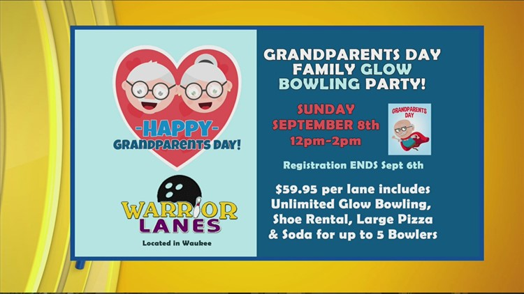 Warrior Lanes - Bowling Blastoff & Grandparents Day