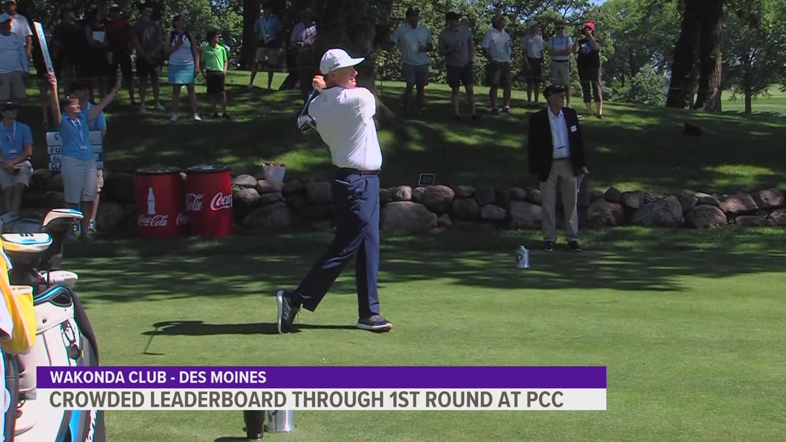 2021 Principal Charity Classic wraps up first round with a crowded leaderboard