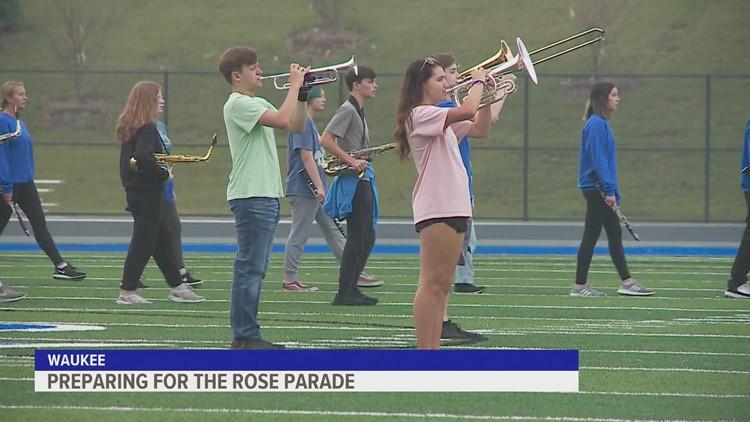 Waukee Warrior Regiment heading to the Rose Parade