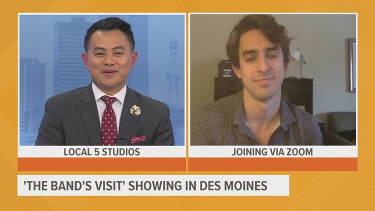 'The Band's Visit' coming to Des Moines