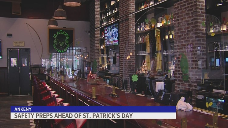 Ankeny pub not taking chances with COVID this St. Patrick's Day