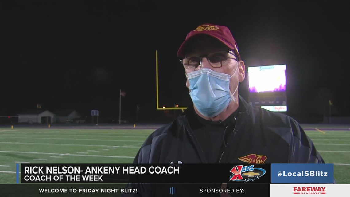 Karl Chevrolet Coach of the Week: Rick Nelson, Ankeny