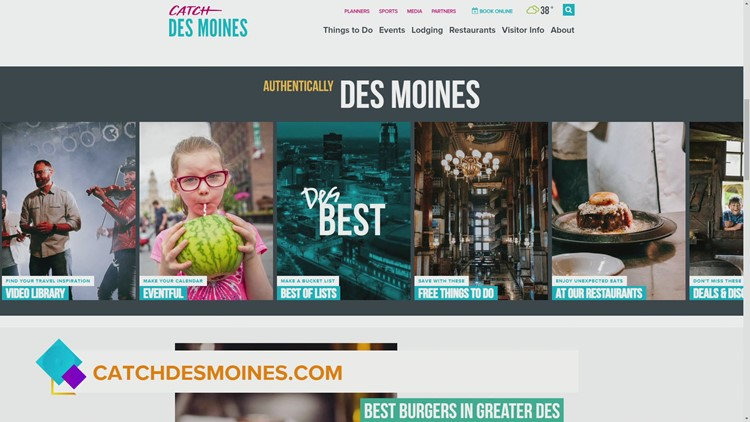 Monster Jam, Drake Relay related activities and art just some of the things you can Catch in Des Moines this weekend!