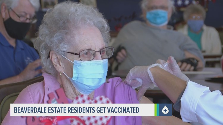 Goodbye, COVID | Older Iowans finally receive their first vaccine dose
