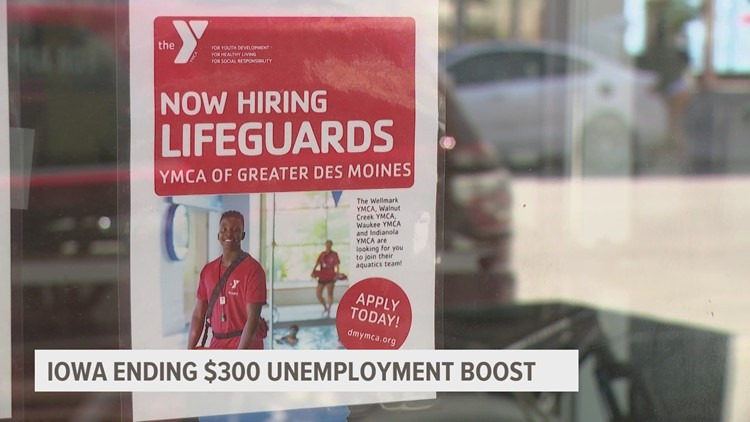 'Less than a month to figure it out': Iowans react to federal unemployment payment cuts