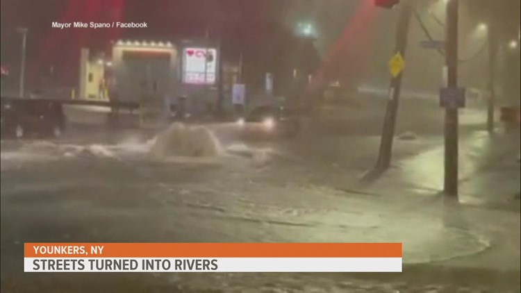 Death toll rises after Ida's remnants hit Northeast