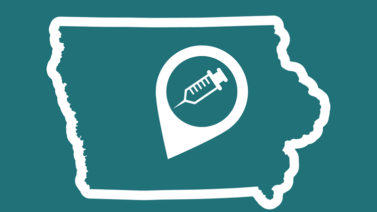 Iowa vaccine eligibility | Who can and can't get an appointment starting Monday?