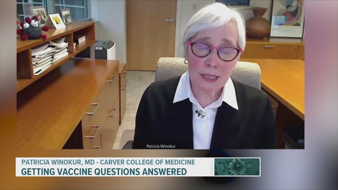 Online forum answers questions about the COVID-19 vaccine
