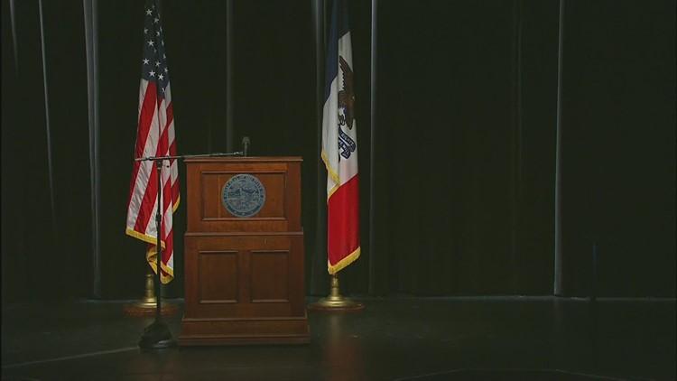 Gov. Kim Reynolds COVID-19 press conference (April 7, 2021)