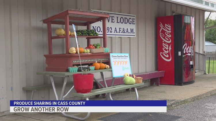 Cass County produce sharing program 'Grow Another Row' taking root