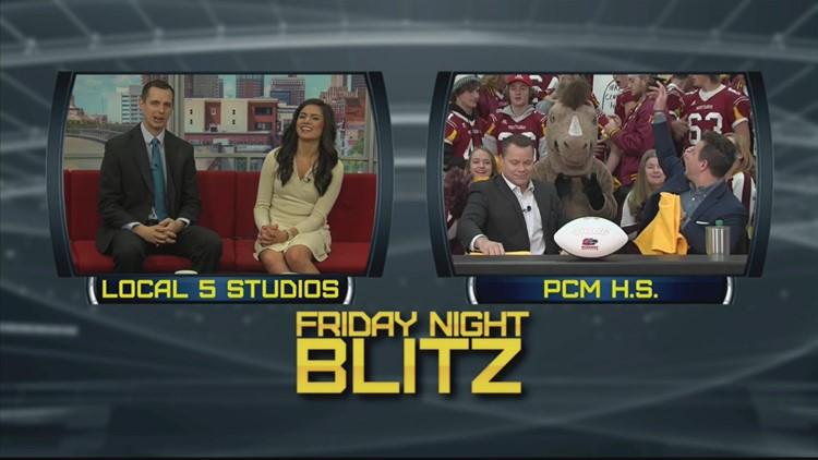 Blitz Gameday live from Prairie City-Monroe High School