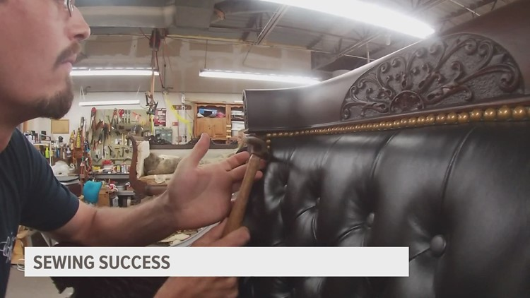 Beaverdale business booming with upholstery requests