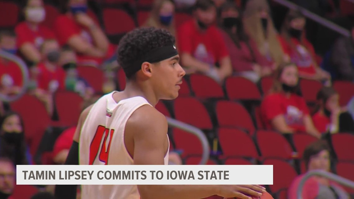 Ames High's Tamin Lipsey commits to Iowa State Cyclones