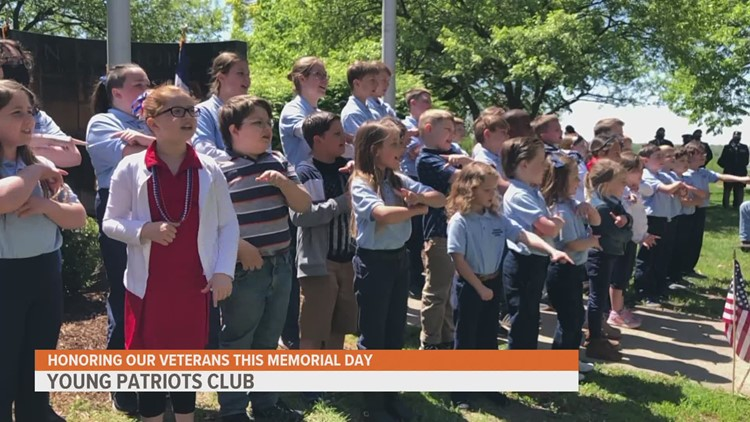 Young Patriots Club looking for more members to join their mission of honoring veterans