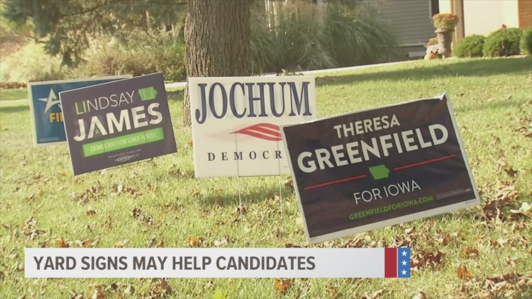 Studies show political signs could make a difference in election results