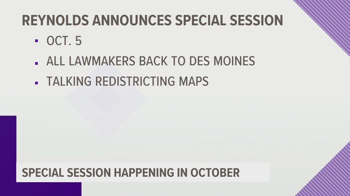Redistricting session set for Oct. 5; court OKs more time