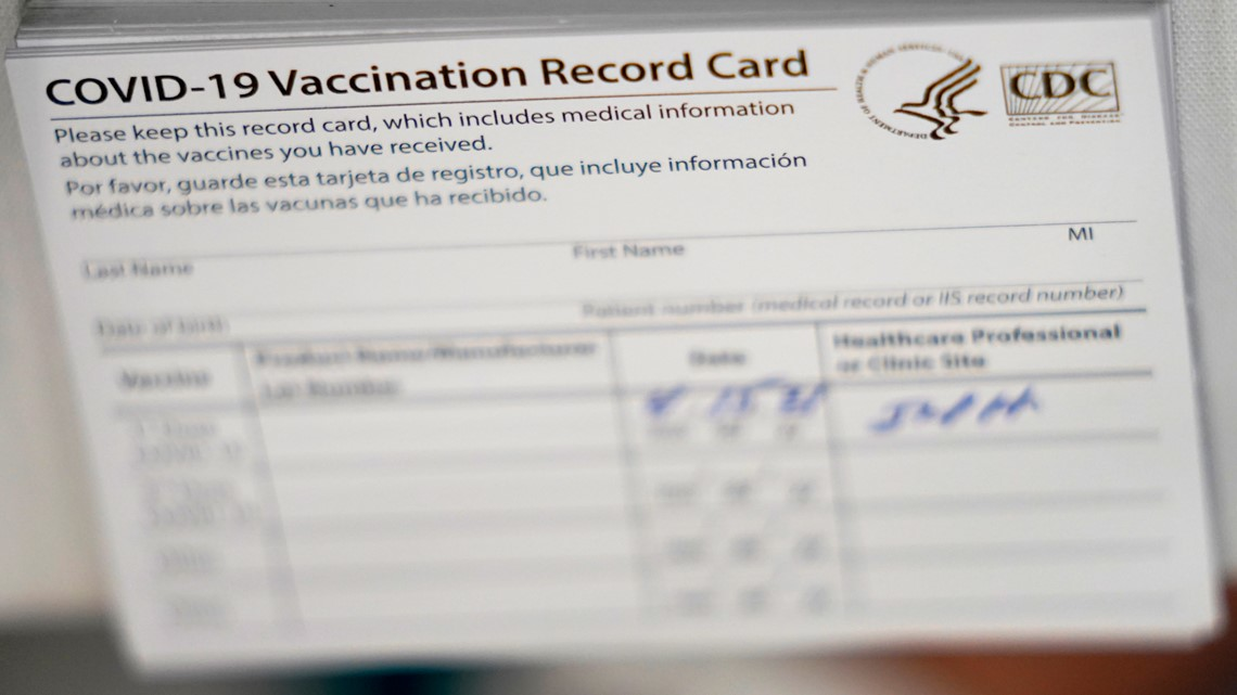 Iowa Attorney General warns of fake vaccine cards