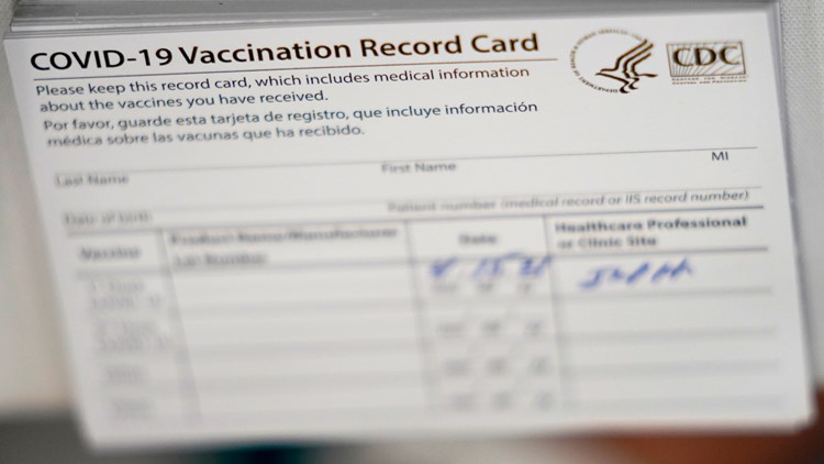Watch out for fake vaccine cards: Buying and selling them is illegal