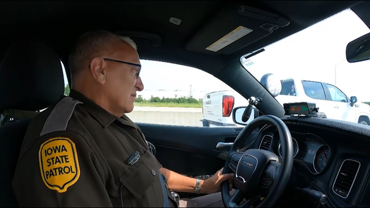 Iowa State Patrol says busier roads hasn't stopped excessive speeding