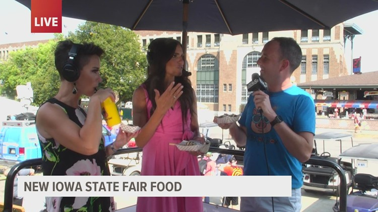 Aug. 19 Fair Food: Chicken Bacon Ranch Ball, Barksdale's Cookies and pretzel bites