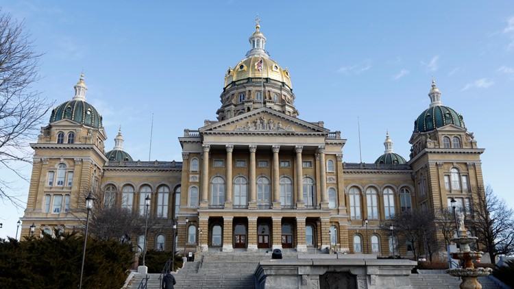 COVID-19 case confirmed in Iowa House