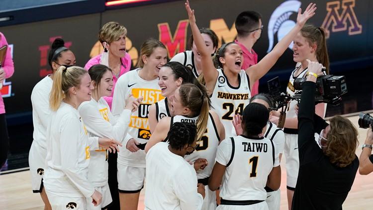Hawkeye women's basketball advance to Big Ten championship game