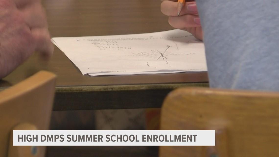 Des Moines Public Schools hosting their largest summer school ever
