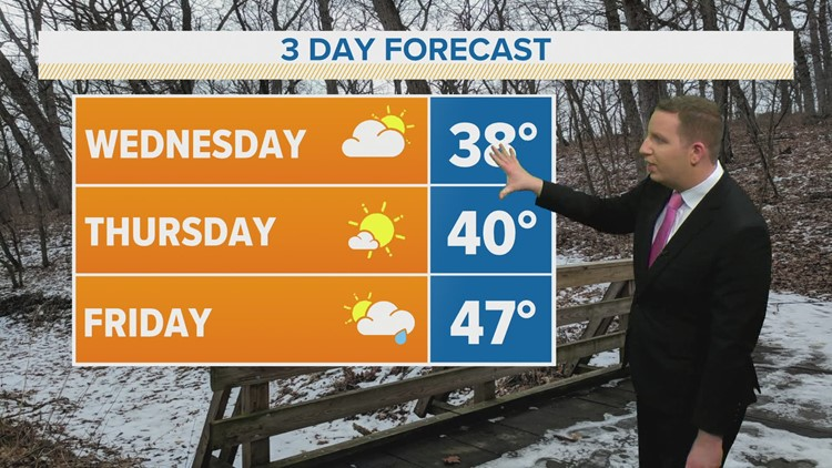 Midday Weather Update- Feb. 24, 2021