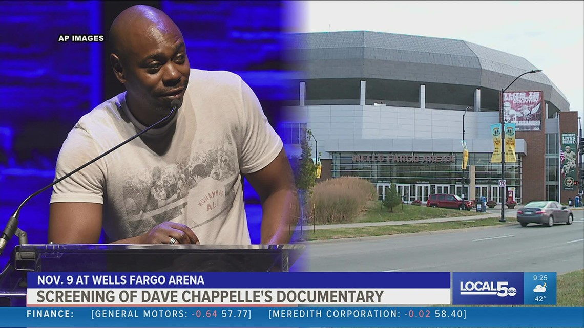 Dave Chappelle coming to Des Moines