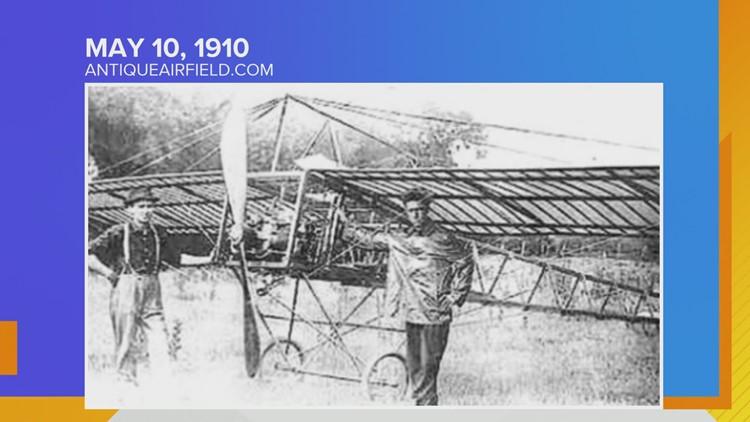 Iowa Almanac: First Flight in Iowa