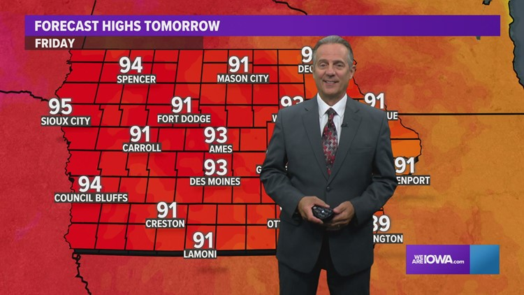 Weather Update July 22, 2021