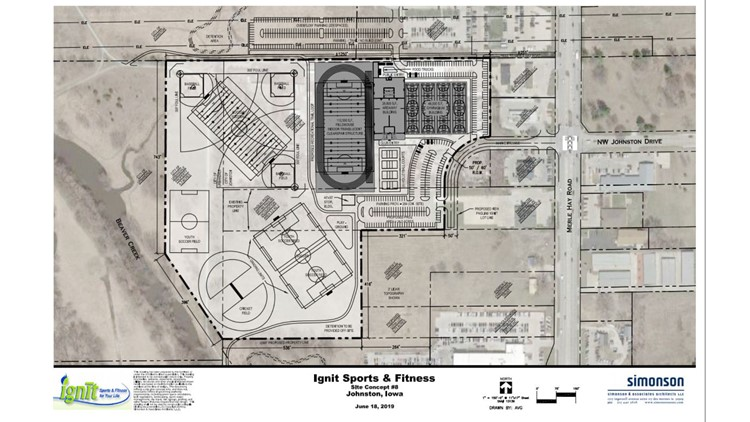 City of Johnston planning multi-sport complex with state's largest indoor track and soccer field