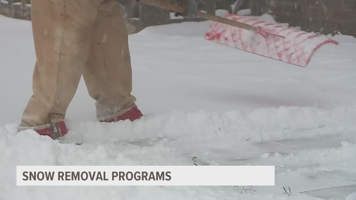 Need snow removal assistance? Here's who can help
