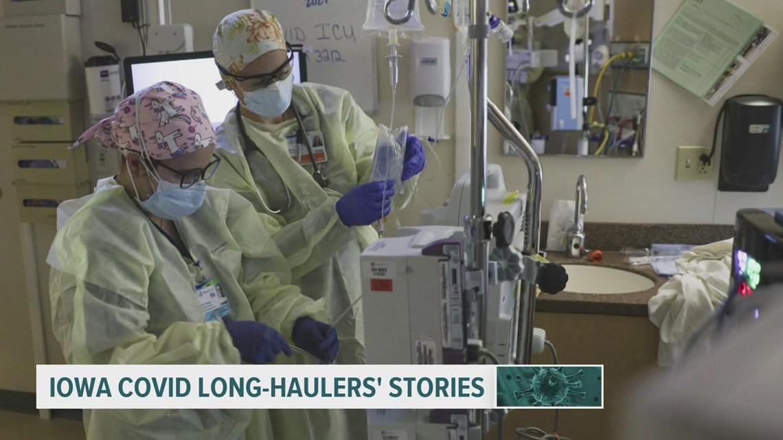 Hear from 2 Iowa women still battling COVID long-hauler symptoms
