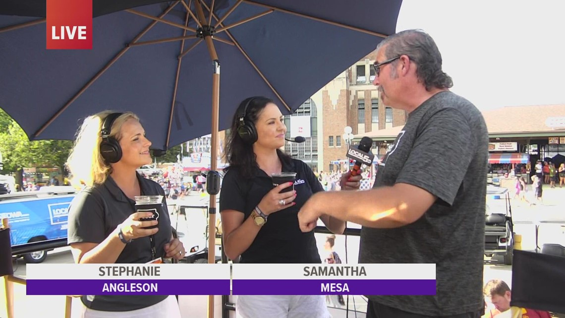 Live at the fair: Cooling off with the Iowa Craft Beer Tent