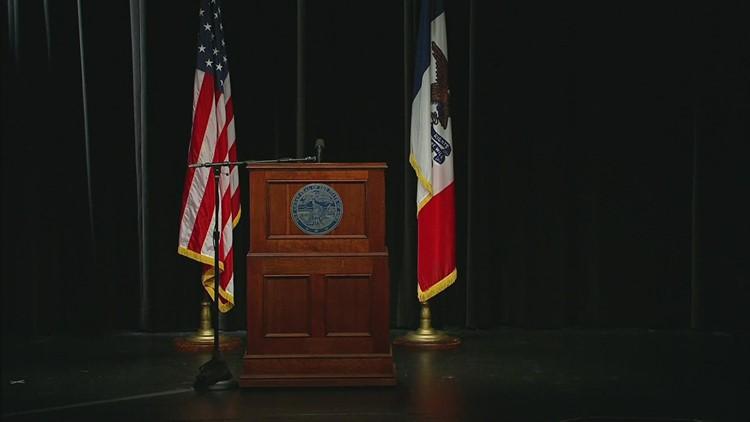 Gov. Kim Reynolds COVID-19 press conference (April 14, 2021)