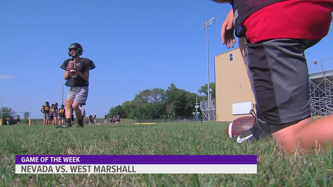 Friday Night Blitz: Nevada takes on West Marshall for this 'Game of the Week'