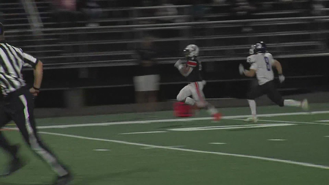 Wyckoff Heating & Cooling Play of the Week: Dion Hutch takes it to the house