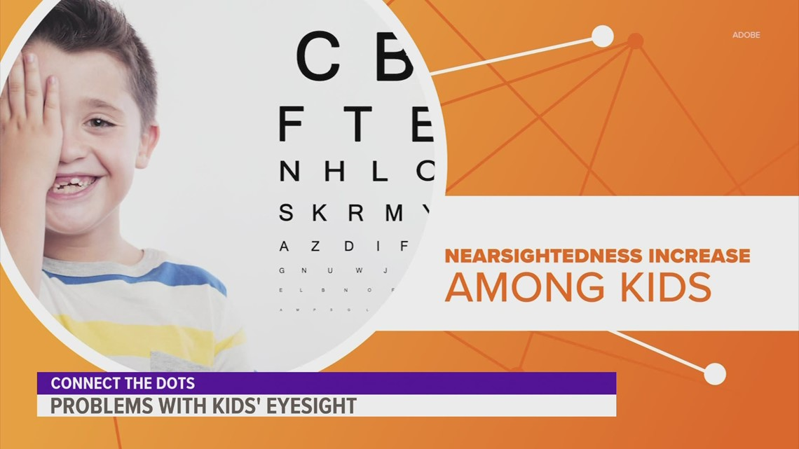 Nearsightedness is on the rise in children, and it's not because of genetics