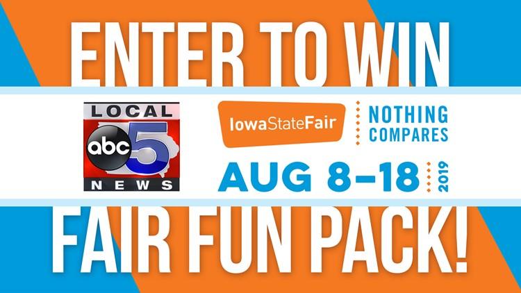 Enter to Win Iowa State Fair Fun Packs!